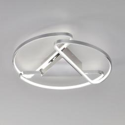 Потолочный светодиодный светильник Eurosvet Kristo 90232/3 хром