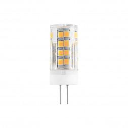 Лампа светодиодная G4 7W 3300K прозрачная 4690389112966