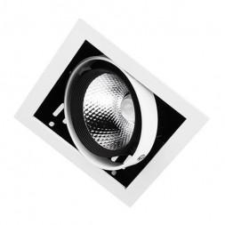 Встраиваемый светодиодный светильник Ambrella light Cardano T811 BK/CH 12W 4200K