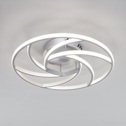 Потолочный светодиодный светильник Eurosvet Indio 90207/1 серебро