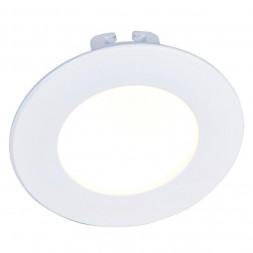 Встраиваемый светодиодный светильник Arte Lamp Riflessione A7008PL-1WH