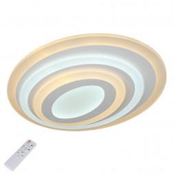 Потолочный светодиодный светильник с пультом ДУ Omnilux Fanano OML-05207-65