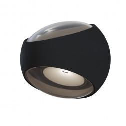 Уличный настенный светодиодный светильник Maytoni Stream O032WL-L6B3K