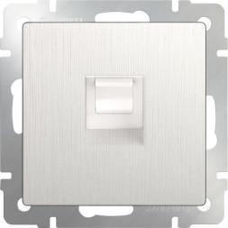 Розетка Ethernet RJ-45 перламутровый рифленый WL13-RJ-45 4690389124310
