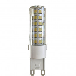Лампа светодиодная G9 6W 2800К прозрачная VG9-K1G9warm6W 7034