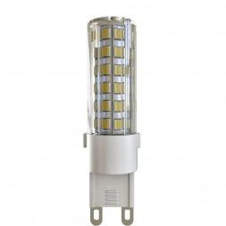 Лампа светодиодная G9 6W 4000К кукуруза прозрачная VG9-K1G9cold6W 7035