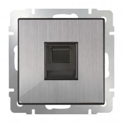 Розетка Ethernet RJ-45 WL02-RJ-45 глянцевый никель 4690389119620