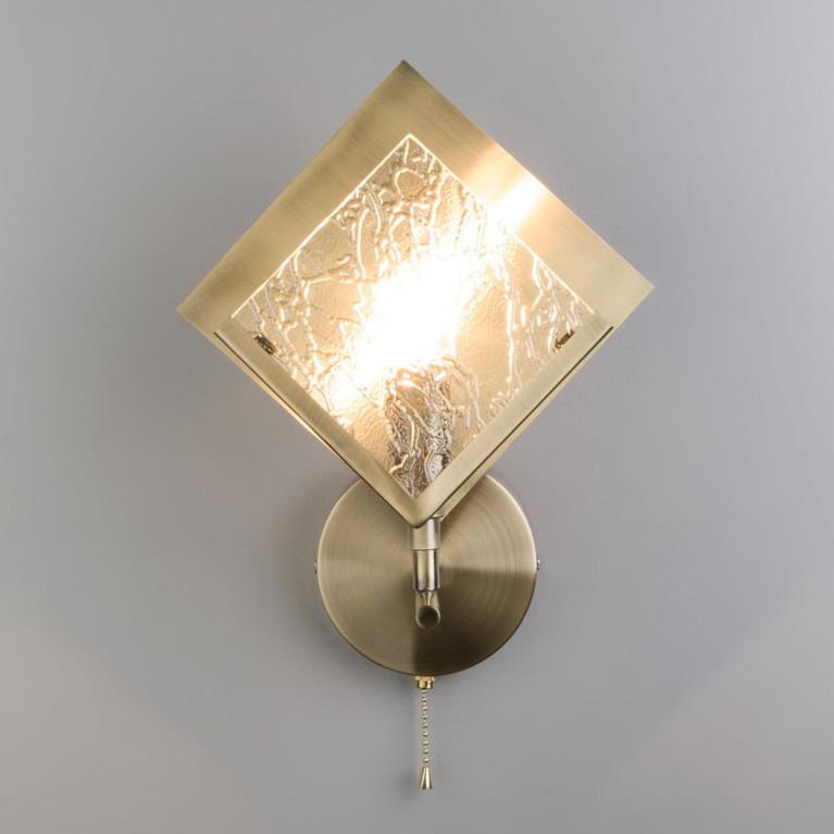 Бра Eurosvet 60110/1 античная бронза