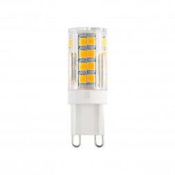 Лампа светодиодная G9 7W 4200K прозрачная 4690389112997