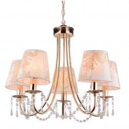 Подвесная люстра Arte Lamp Armonico A5008LM-5GO