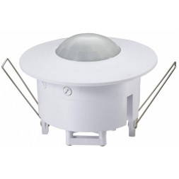 Датчик движения SNS-M-03 8m 2,2-4m 1200W IP20 360 Белый 4690389031984