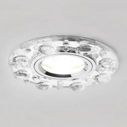 Встраиваемый светильник Ambrella light Crystal K225 CH