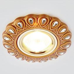 Встраиваемый светильник Ambrella light Desing D5540 SB/CL-A