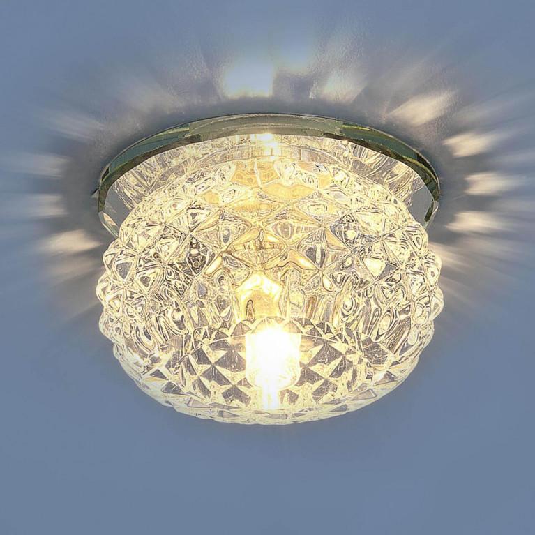 Встраиваемый светильник Elektrostandard 176 G9 CL прозрачный 4690389057755