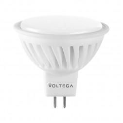 Лампа светодиодная GU5.3 10W 2800K матовая VG1-S2GU5.3warm10W-C 7074