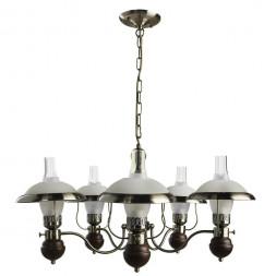 Подвесная люстра Arte Lamp Capanna A4533LM-5AB