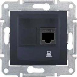 Розетка компьютерная RJ45 Schneider Electric Sedna UTP SDN4300170