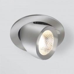 Встраиваемый светодиодный светильник Elektrostandard 9918 LED 9W 4200K серебро 4690389162435