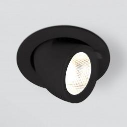 Встраиваемый светодиодный светильник Elektrostandard 9918 LED 9W 4200K черный 4690389162428