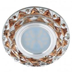 Встраиваемый светильник Fametto Luciole DLS-L130 GU5.3 Chrome/Brown
