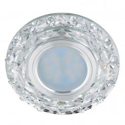 Встраиваемый светильник Fametto Luciole DLS-L130 GU5.3 Chrome/Clear