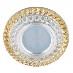 Встраиваемый светильник Fametto Luciole DLS-L132 GU5.3 Chrome/Gold
