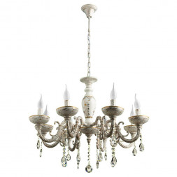 Подвесная люстра Arte Lamp Dubai A5335LM-8WG