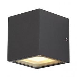 Уличный настенный светильник SLV Sitra Cube 232535