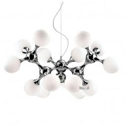 Подвесная люстра Ideal Lux Nodi Bianco SP15