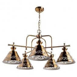 Подвесная люстра Arte Lamp Kensington A1511LM-5PB