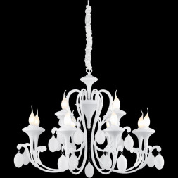 Подвесная люстра Arte Lamp Montmartre A3239LM-12WH