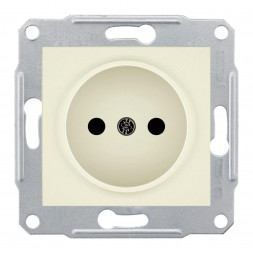 Розетка Schneider Electric Sedna б/з без шторок 16A 250V SDN2900147