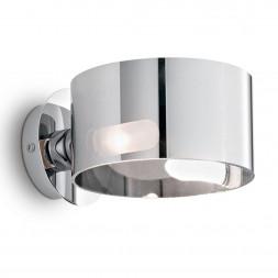 Настенный светильник Ideal Lux Anello AP1 Cromo