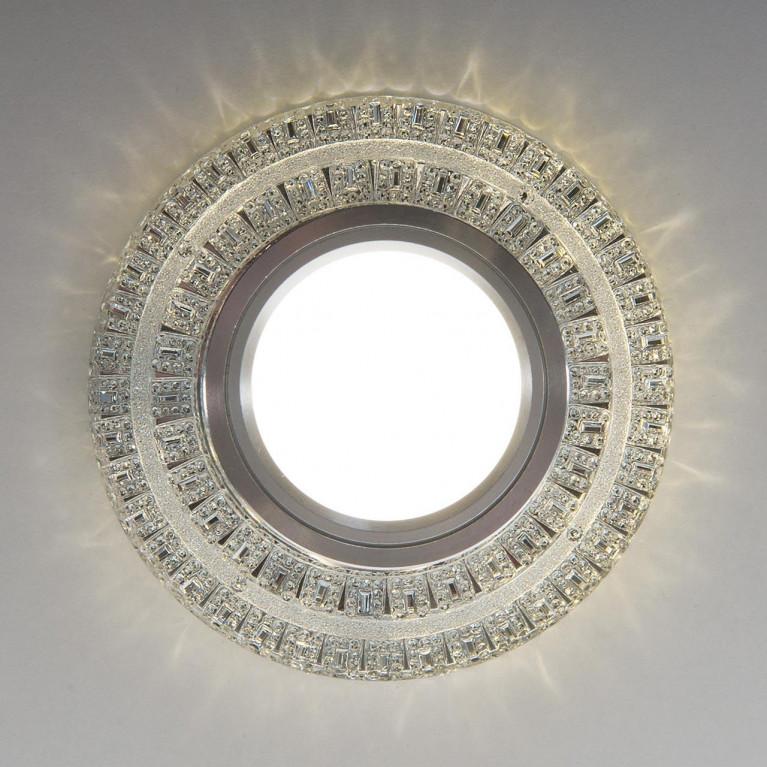 Встраиваемый светильник Elektrostandard 2225 MR16 CL прозрачный 4690389133992