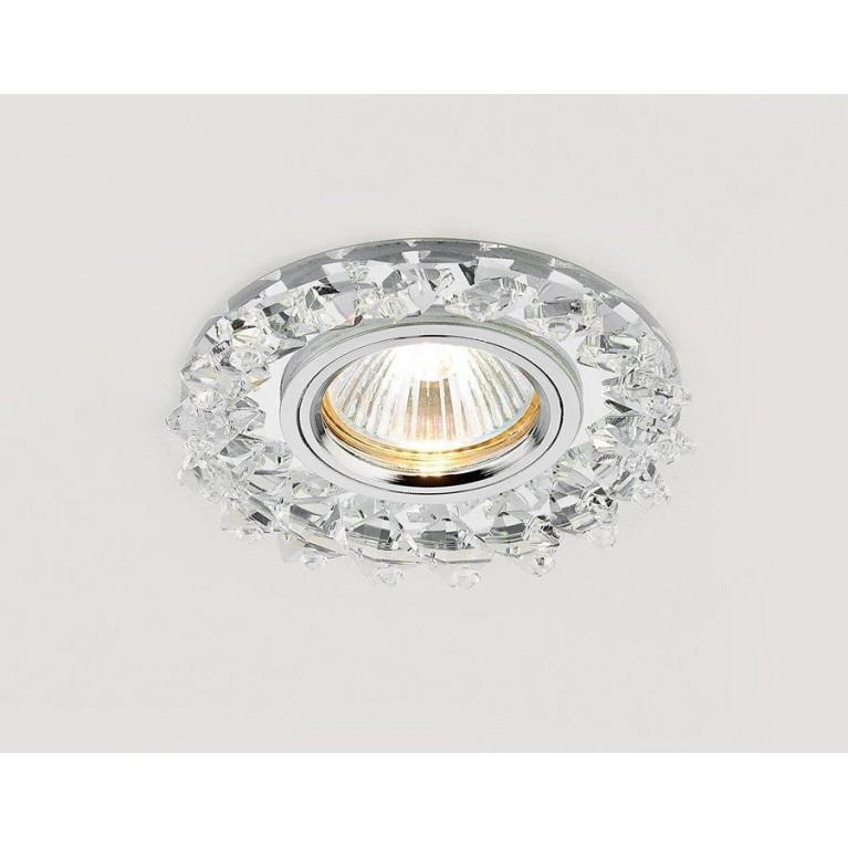 Встраиваемый светильник Ambrella light Crystal K240 CH