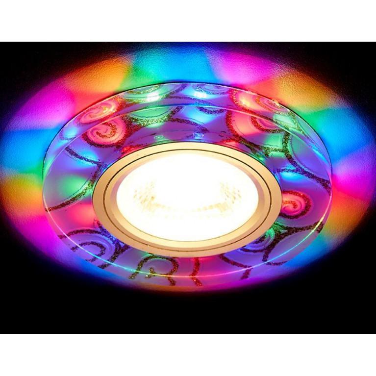 Встраиваемый светодиодный светильник Ambrella light Led S231 W/G/M