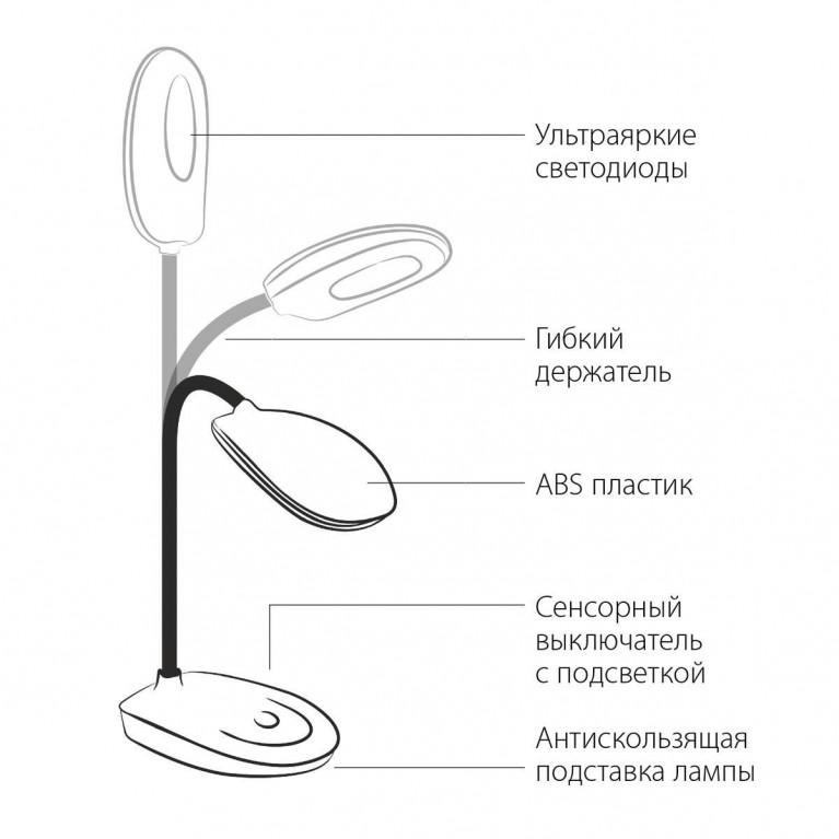 Настольная лампа Elektrostandard TL90191 черный 4690389084850