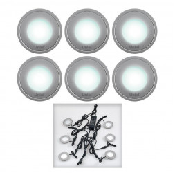 Ландшафтный светильник (08938) Uniel 4500K ULM-R06-0,5W*6/NW
