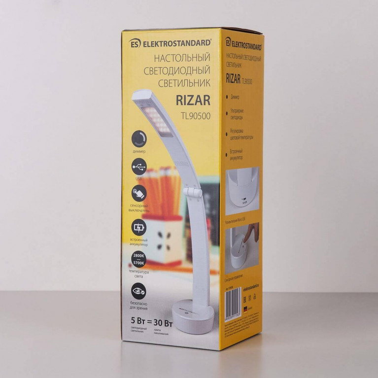 Настольная лампа Elektrostandard TL90500 Rizar белый 4690389111563