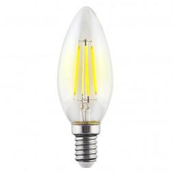 Лампа светодиодная филаментная E14 9W 2800К прозрачная VG10-C1E14warm9W-F 7096