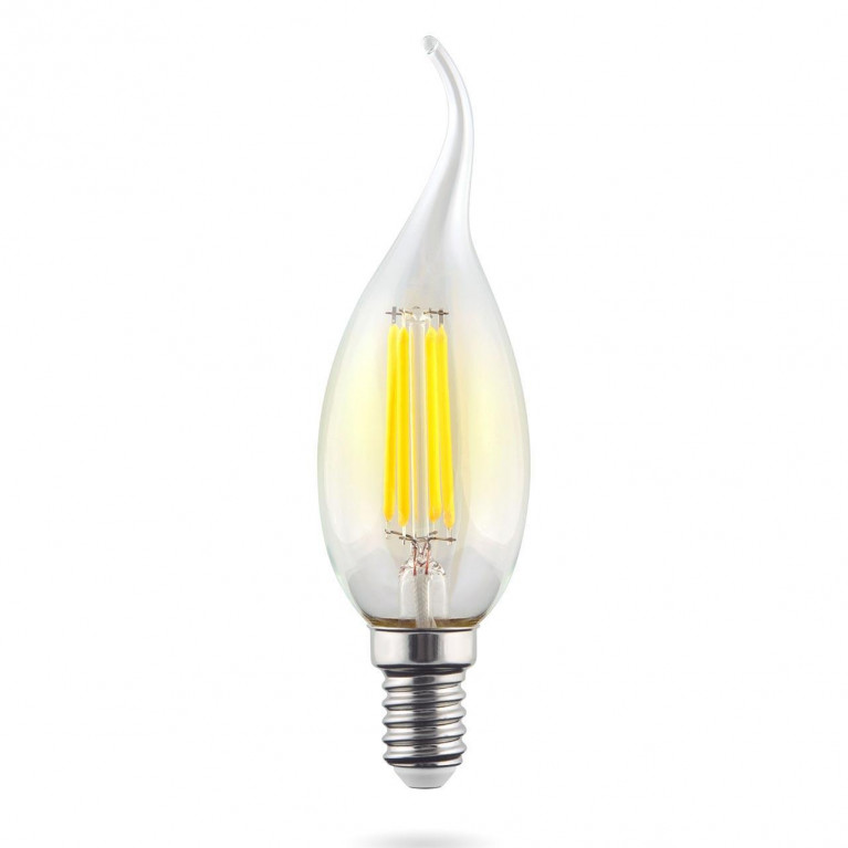 Лампа светодиодная филаментная E14 9W 2800К прозрачная VG10-CW1E14warm9W-F 7094