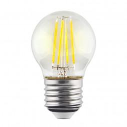 Лампа светодиодная филаментная E27 9W 2800К прозрачная VG10-G1E27warm9W-F 7106