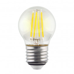 Лампа светодиодная филаментная E27 9W 4000К прозрачная VG10-G1E27cold9W-F 7107