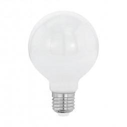 Лампа светодиодная филаментная Eglo E27 8W 2700К опал 11598