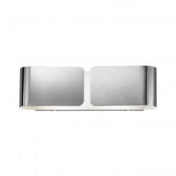 Настенный светильник Ideal Lux Clip AP2 Small Cromo