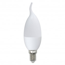 Лампа светодиодная (UL-00000308) E14 6W 3000K матовая LED-CW37-6W/WW/E14/FR/O