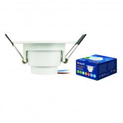 Встраиваемый светодиодный светильник (UL-00003242) Volpe ULM-Q261 5W/DW IP44 White