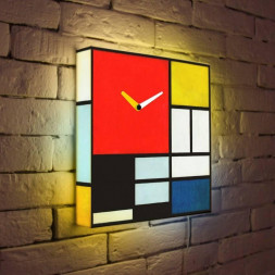 Световые часы Мондриан LB-035-35