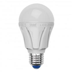 Лампа светодиодная (UL-00000688) E27 11W 4500K матовая LED-A60-11W/NW/E27/FR/DIM PLP01WH