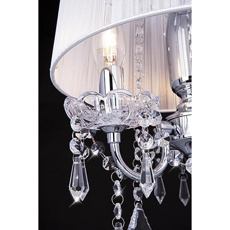 Настольная лампа Eurosvet 2045/3T хром/белый